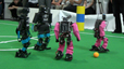 RoboCup German Open 2009 Humanoid Final: NimbRo vs. Darmstadt Dribblers