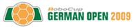 RoboCup German Open 2009 logo